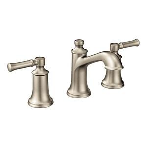 Moen Dartmoor 1 2 Gpm 3 Hole Widespread Bathroom Faucet With Double