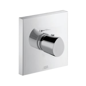 AXOR Starck Organic Thermostatic Trim in Polished Chrome AX12711001