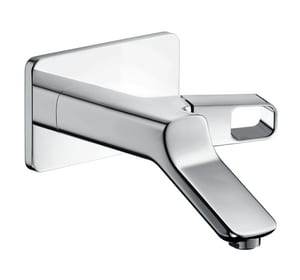 AXOR Urquiola Wall Mounted Single-Handle Faucet Trim in Polished Chrome AX11026001