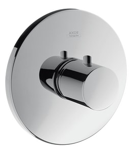 AXOR Uno Single Handle Bathtub & Shower Faucet in Polished Chrome (Trim Only) AX38715001