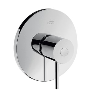 AXOR Uno Single Handle Bathtub & Shower Faucet in Polished Chrome (Trim Only) AX38418001
