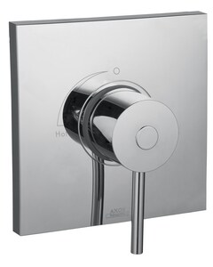 AXOR Massaud Pressure Balancing Trim with Single Lever Handle in Polished Chrome AX18978001