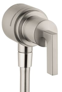 AXOR Citterio Single Handle Bathtub & Shower Faucet in Brushed Nickel (Trim Only) AX39882821