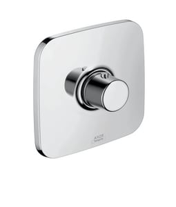 AXOR Bouroullec 13 gpm Thermostatic Trim with Single Knob Handle in Polished Chrome AX19702001