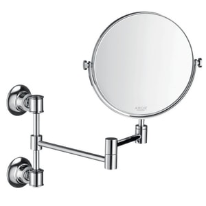 Montreux 12-3/8 x 8-3/8 in. Metal Shaving Mirror in Polished Chrome AX42090000