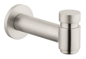 Hansgrohe Talis S Tub Spout with Diverter in Brushed Nickel H72411821