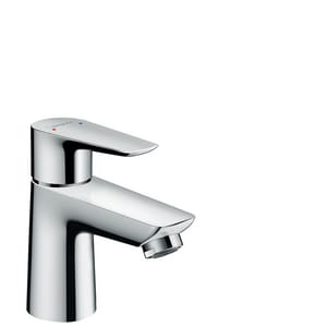 Hansgrohe Talis E Single Handle Monoblock Bathroom Sink Faucet in Polished Chrome H71700001