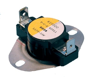 Supco Therm-O-Disc® 240V 120F Thermostat Limit Control SSHL