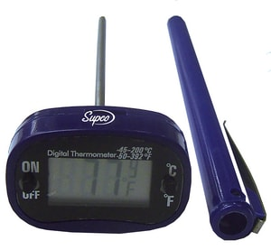 Supco 50-305 Degree F Digital Pocket Thermometer SST10