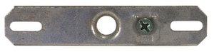 Satco 1/8 in. Iron Pipe Gem Bar with Grounded Screw in Grey S901125
