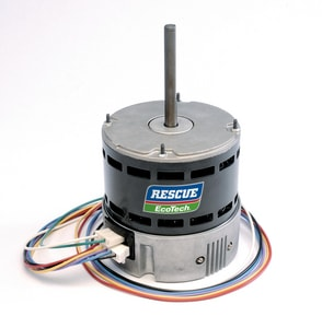U.S. Electrical Motors Division Rescue® EcoTech™ 1/5 - 1/3 hp 1075 RPM 115/208/230V Fan Motor USM5522ET