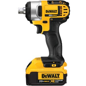 DEWALT 20 V 1/2 in. Max Lithium-Ion Impact Wrench with Ring DDCF880M2 at Pollardwater