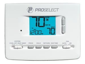 PROSELECT® 4A Large Display Programmable Thermostat PSTSL21P52