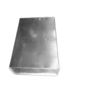 30 in. Galvanized Furnace Box with Cut-Out SHMFBC302824X