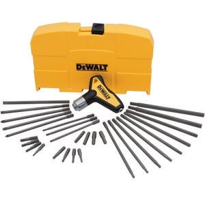 DEWALT 31-Piece Solid Steel Ratchet T-Handle Set DDWHT70265