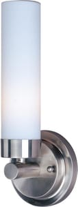 ET2 Cilandro I 40W 1-Light Wall Sconce in Satin Nickel EE5300611