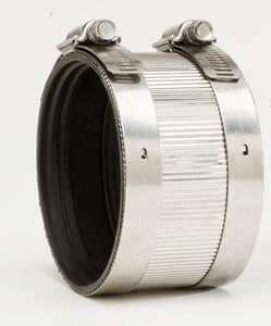 2 in. No-Hub Stainless Steel Coupling DNHCK
