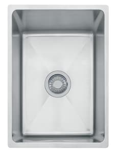 Franke Consumer Products Professional 14-9/16 x 19 1/2 x 7 9/16 in. Single Bowl Undermount Sink Stainless Steel FPSX110138