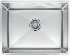 Franke Professional Series 22-3/8 x 17-5/8 in. Undermount Stainless Steel Bar Sink in Stainless Steel FPSX1102110