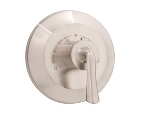 Mirabelle® Provincetown Single Lever Handle Thermostatic Valve Trim in Brushed Nickel MIRPR9009BN