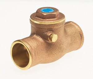 Milwaukee Valve UP968 DZR Forged Brass Solder Check Valve MUP968