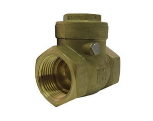 Milwaukee Valve UP967 3/4 in. Forged Brass Threaded Check Valve MUP967F