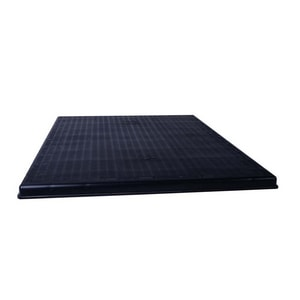 Diversitech The Black Pad® 42 x 38 x 2 in. Equipment Pad Plastic and Rubber DIVACP38422