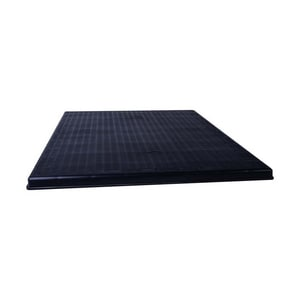 Diversitech The Black Pad® 36 in x 36 in x 2 in Equipment Pad 125 lbs 2 in Plastic and Rubber DIVACP3636