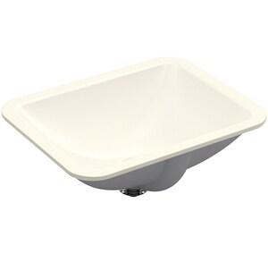 Kohler Caxton® Undermount Bathroom Sink in Biscuit K20000-96