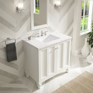 Kohler Caxton® Undermount Bathroom Sink in White K20000