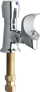 Chicago Faucet Push Button Handle Bubbler in Polished Chrome C748665FHABCP