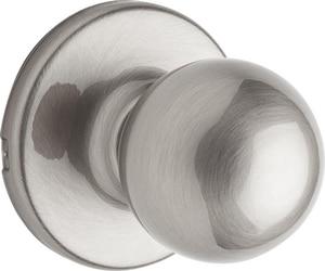 Kwikset Polo® Hall or Closet Knob in Satin Nickel K200P156ALRCSV1