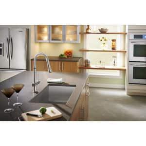 Elkay Avado® Single Handle Pull Down Kitchen Faucet in Brushed Nickel ELKAV2031NK