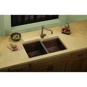 Elkay Avado® Copper Undercounter Kitchen Sink in Antique Hammered EECU3120RACH