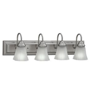 4-Light Vanity Fixture in Satin Nickel C217462