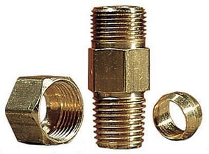 Little Giant Pump 1/4 x 3/8 in. Brass Check Valve L599063