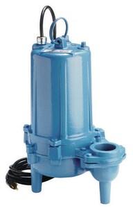 Little Giant Pump WS Series 1 hp 190 gpm Submersible High Head Sewage Pump L620259