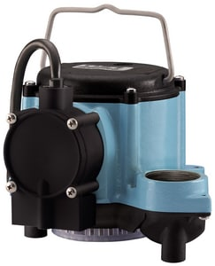 Little Giant Pump 6-CIA 115V 1/3 HP 46 GPM Automatic Submersible Sump Pump with legs L506162