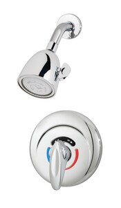 Symmons Industries Safetymix® 9-1/2 in. Shower System in Polished Chrome SYM1100X20