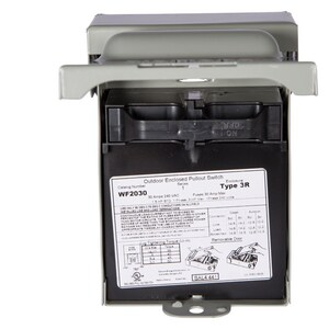 Siemens Energy & Automation AC Disc 30A Fuse 3hp SWF2030