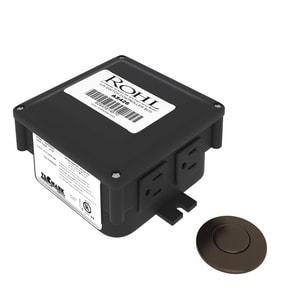 ROHL® Allia Compressor Air Switch in Tuscan Brass RAS450TCB