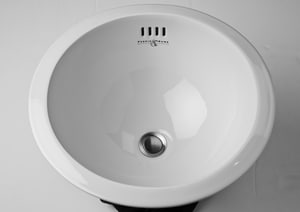 ROHL® Perrin & Rowe® Round Under-Counter Bowl in White RU2515WH
