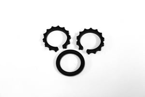 ROHL® Kitchen Ring Set in Black RC7593SET