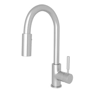 ROHL® Modern Architectural Single Lever Handle Bar Faucet in Stainless Steel RR7519SS