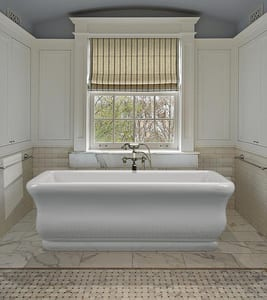 MTI Whirlpools Parisian 1 66 x 36 in. Acrylic Free Standing Soaker in White MTIS146WH