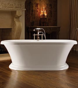 MTI Whirlpools Melinda 1 71-1/4 x 34-3/4 in. Bathtub in White MTIAST74BASE74WH