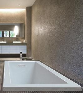 MTI Whirlpools® Andrea® 3 72 x 36 in. Soaker Drop-In Bathtub with Left Drain in White MTIS93WHUM