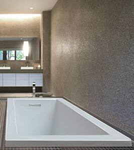 Andrea® 3 72 x 36 in. Air Bath Drop-In Bathtub with Left Drain in White MTIAST93WHUM