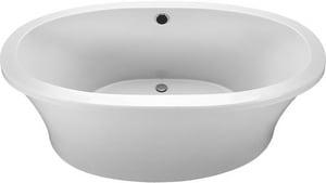 MTI Whirlpools® Basics® 66 x 36-3/4 in. Freestanding Bathtub in White MTIMBSOFS6636WH
