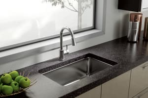 CFG Edgestone® Pull-Down Kitchen Sink Faucet with Single Lever Handle in Polished Chrome CFG46201